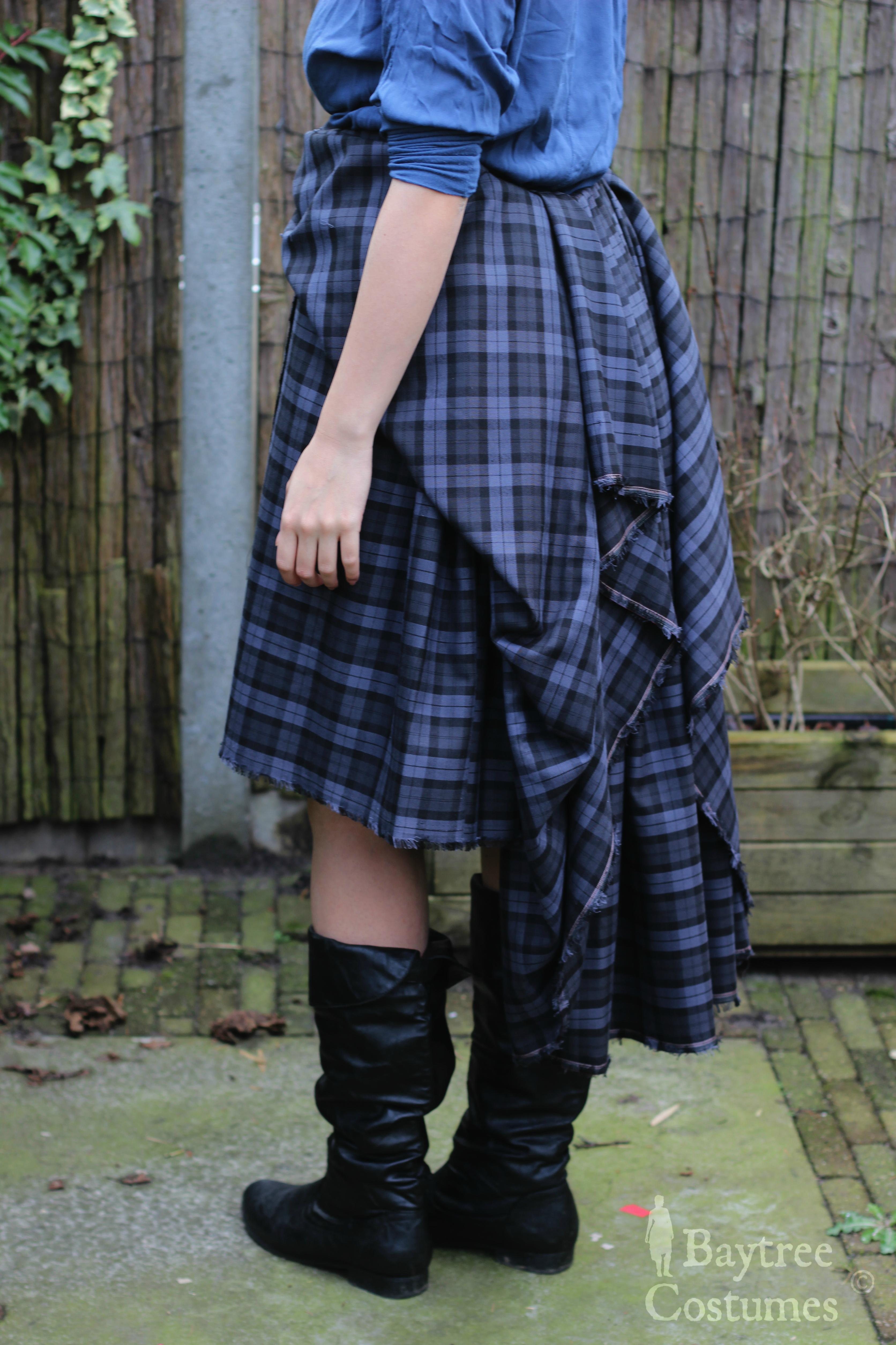 How To Make A Kilt Outlander Costume Part 1 Arisaid