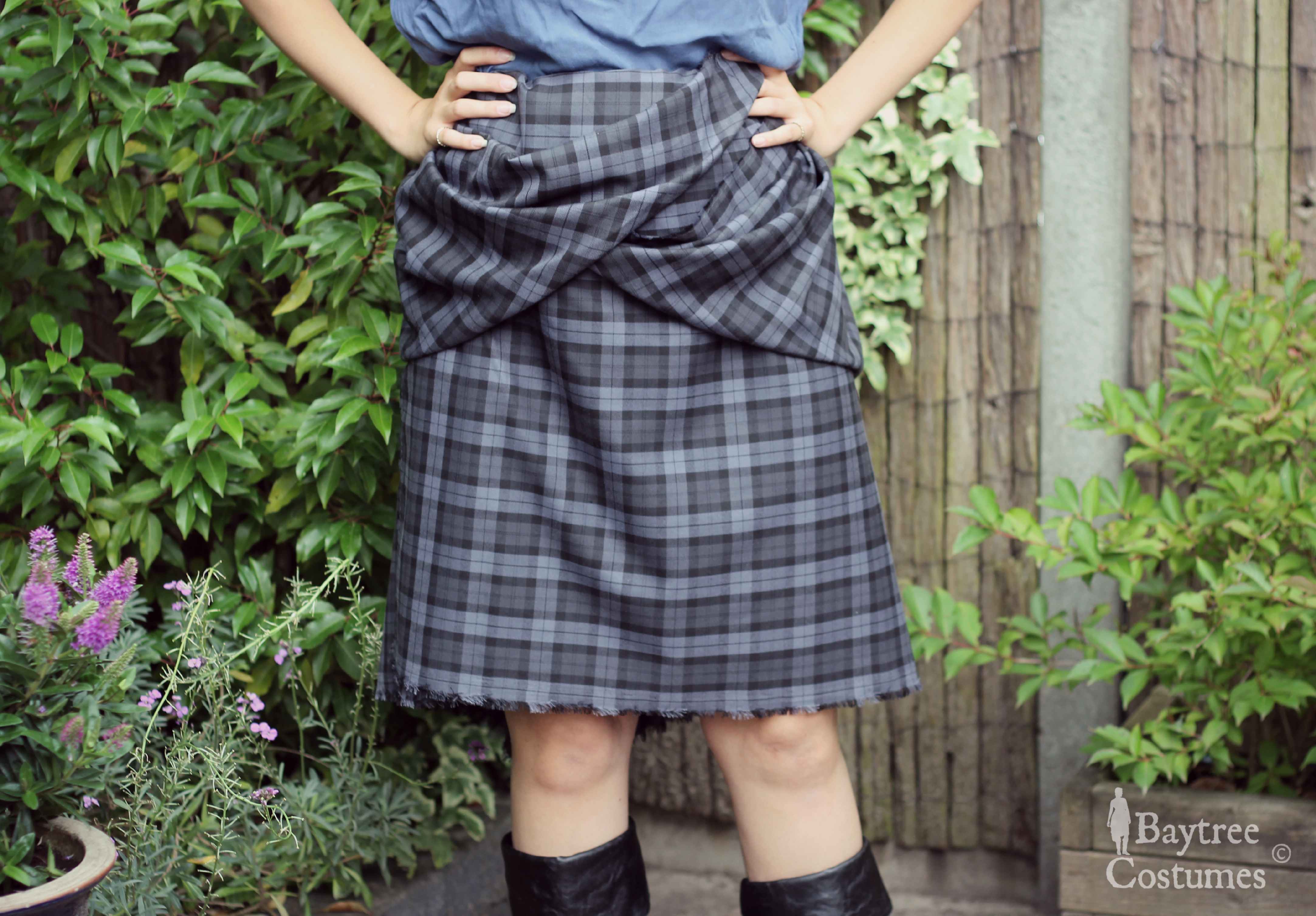 47f414d22a How to make a Kilt | Outlander costume – Part 1: Arisaid / Great ...