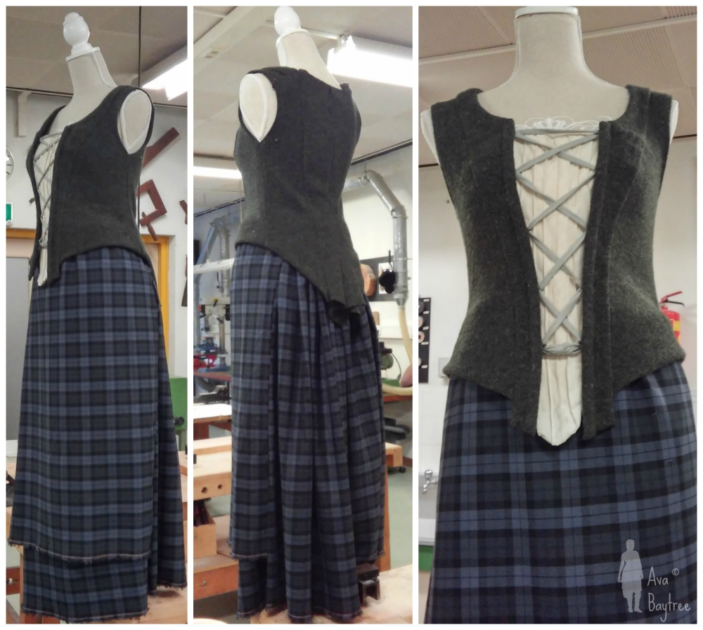 How to make an Outlander costume – Part 1: Arisaid / Great Kilt (2/6)
