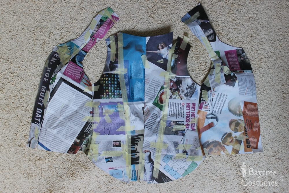 How to make an Outlander costume – Part 2: Claire's jacket / bodice (2/6)